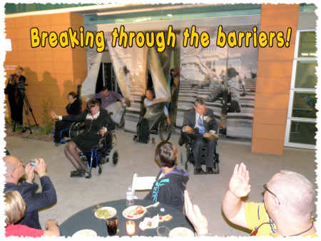 Breaking Through the Barriers!