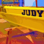 a boat named Judy