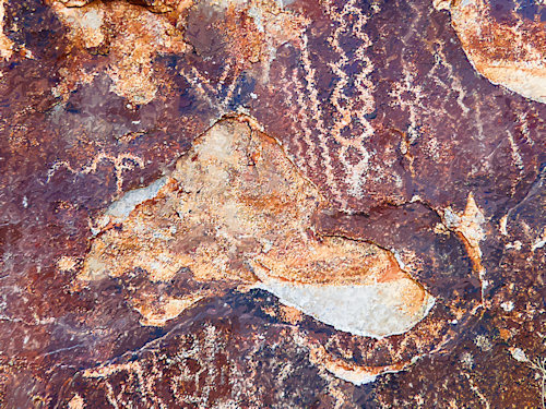 Petroglyphs at White Tank Mountain Regional Park Photographed and redigitized by Judy Vorfeld